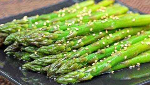 http://www.inspired2cook.com/2009/07/14/chilled-sesame-asparagus/