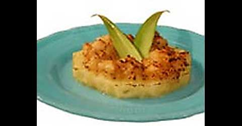 http://www.foodnetwork.com/recipes/gale-gand/broiled-pineapple-with-macadamia-crunch-recipe/index.html