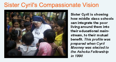 Read about Sister Cyril's Work